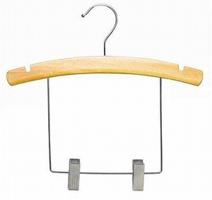 arched wood display hanger