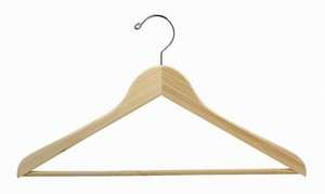bamboo clothes hangers